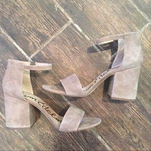 🆕LIST- Sam Edelman Chunky Heel Ankle Strap Sandal